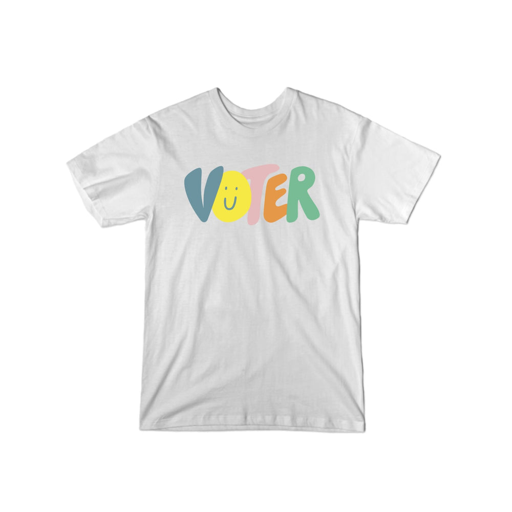 BuzzFeed Voter Happy Face T-Shirt