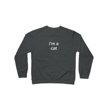 Load image into Gallery viewer, BuzzFeed I'm A Cat Lazy Halloween Costume Crewneck Sweatshirt