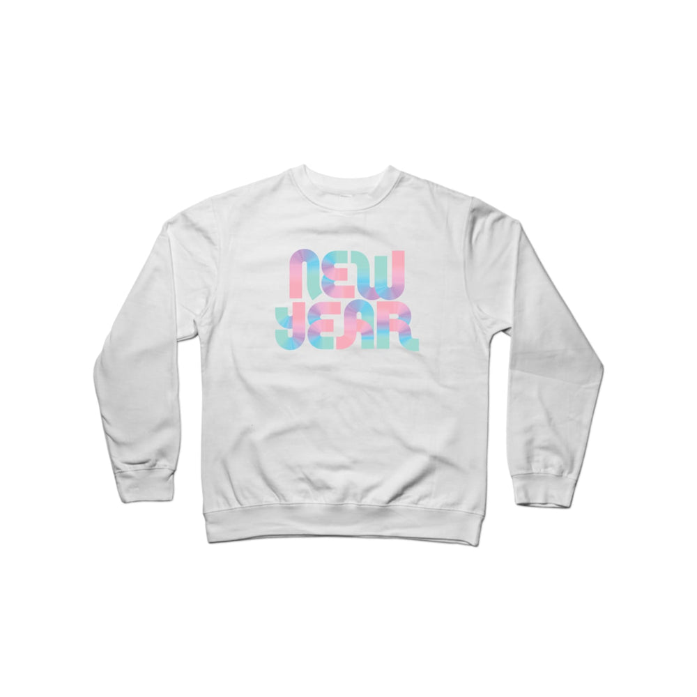BuzzFeed New Year Disco Crewneck Sweatshirt