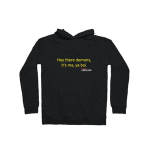 BuzzFeed Unsolved Hey There Demons Boi 2.0 Pullover Hoodie