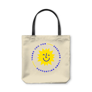 BuzzFeed Support Small Business Sunshine Tote Bag
