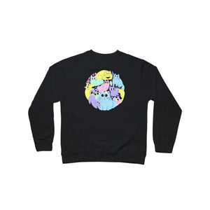 BuzzFeed Cat Circle Cat Day Crewneck Sweatshirt