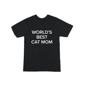 BuzzFeed World's Best Cat Mom Mother's Day T-Shirt