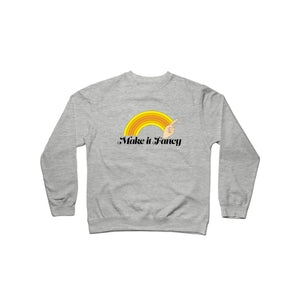 Make It Fancy Finger Wave Crewneck Sweatshirt