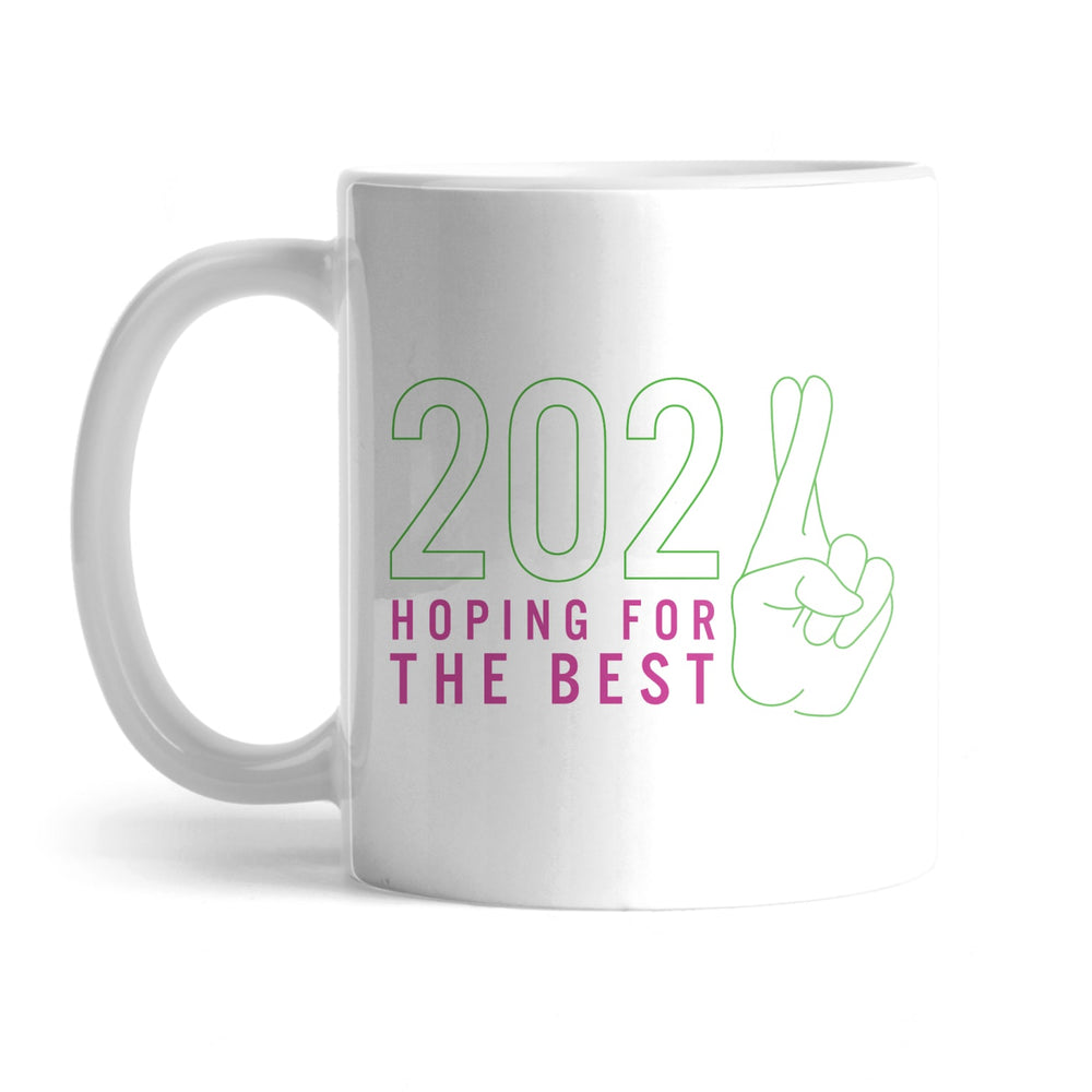 BuzzFeed 2021 Hoping For The Best Mug