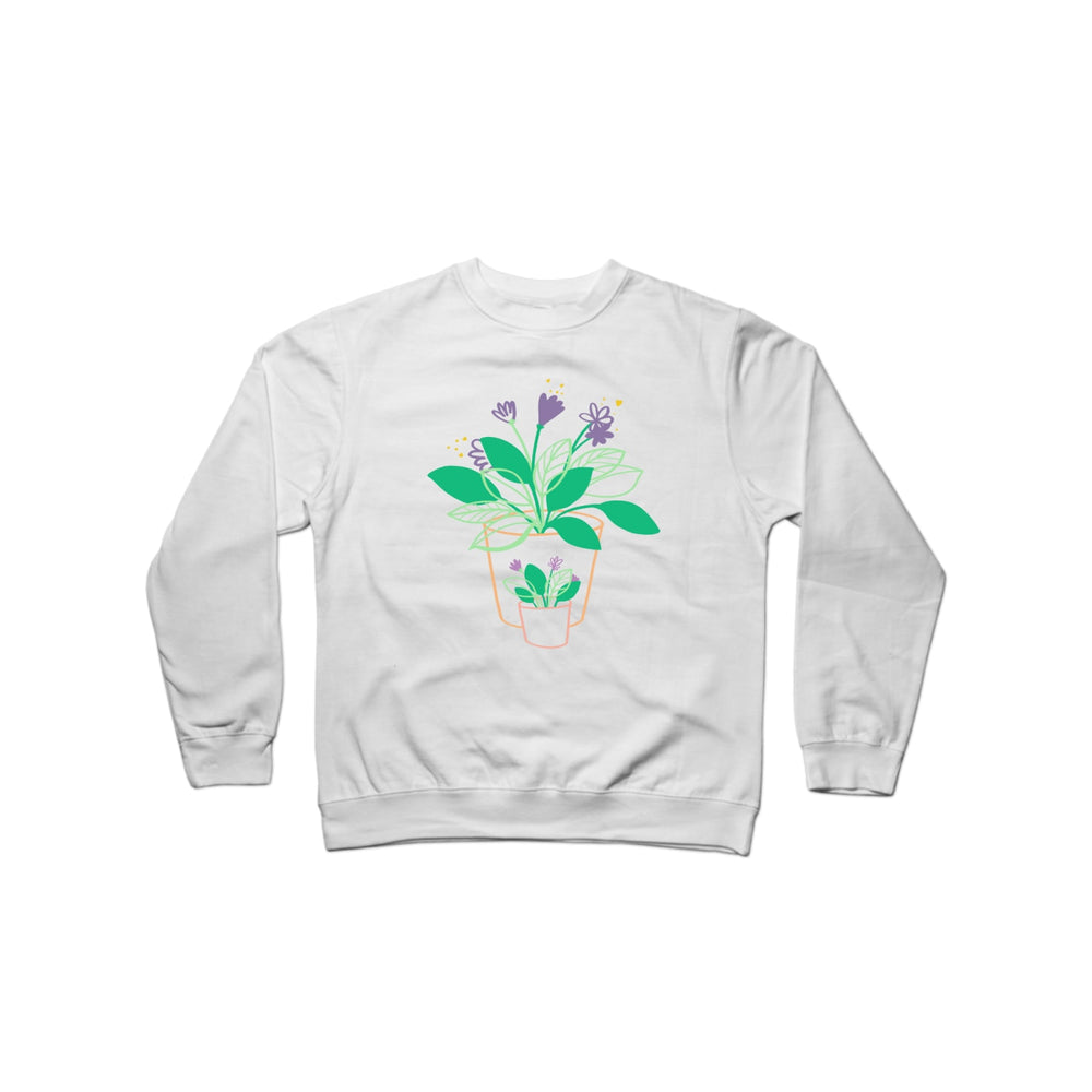 BuzzFeed Plant Love Mother's Day Crewneck Sweatshirt
