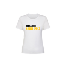 Load image into Gallery viewer, BuzzFeed Cheese Sauce Recipe Mac & Cheese Day Women's T-Shirt