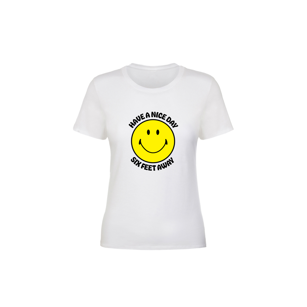 BuzzFeed Have A Nice Day Six Feet Away Women's T-Shirt