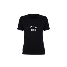 Load image into Gallery viewer, BuzzFeed I'm A Dog Lazy Halloween Costume Women's T-Shirt