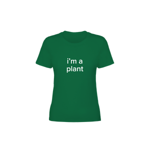 BuzzFeed I'm A Plant Lazy Halloween Costume Women's T-Shirt