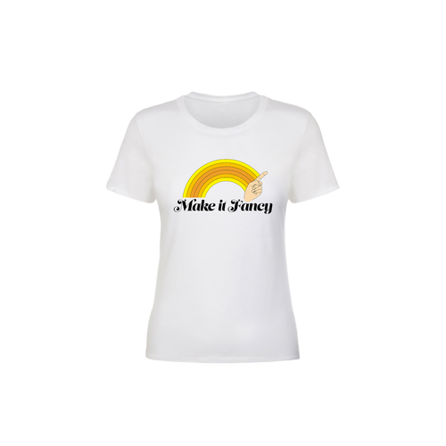 Make It Fancy Finger Wave Women's T-Shirt
