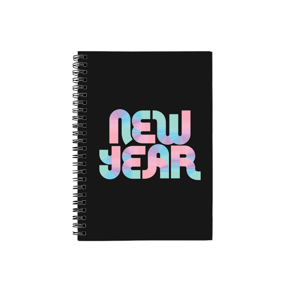 BuzzFeed New Year Disco Notebook