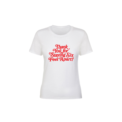 BuzzFeed Thank You For Staying Six Feet Apart Women's T-Shirt