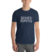 Load image into Gallery viewer, Multiplayer By BuzzFeed Scared Buddies Logo T-Shirt