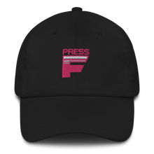 Load image into Gallery viewer, Multiplayer By BuzzFeed Press F Emote Dad Hat