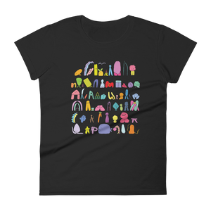 The Land Of Boggs Line Up Women's T-Shirt