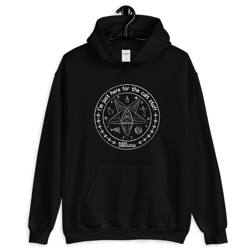 BuzzFeed Unsolved Cult Stuff Hooded Sweatshirt