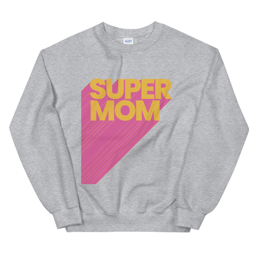 BuzzFeed Super Mom Mother's Day Sweatshirt