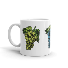 Load image into Gallery viewer, BuzzFeed Grapes Wine Day Mug
