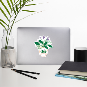 BuzzFeed Plant Love Mother's Day Sticker