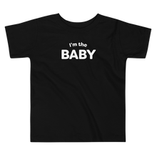 Load image into Gallery viewer, Mom In Progress I'm The Baby Toddler T-Shirt
