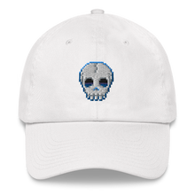 Load image into Gallery viewer, Multiplayer By BuzzFeed Skull Emote Dad Hat