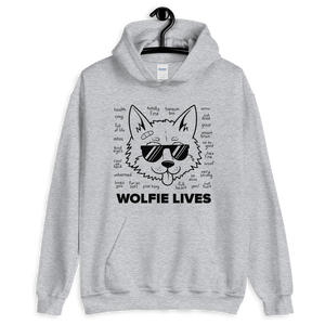 Multiplayer By BuzzFeed Wolfie Lives Hooded Sweatshirt