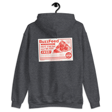 Load image into Gallery viewer, BuzzFeed Pizza Coupon Hooded Sweatshirt