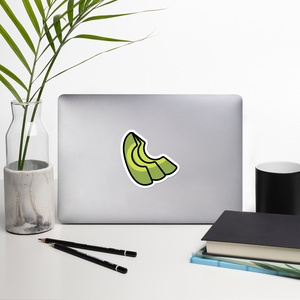 BuzzFeed Avocado Slices Best Friend Day Sticker