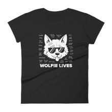 Load image into Gallery viewer, Multiplayer By BuzzFeed Wolfie Lives Women's T-Shirt
