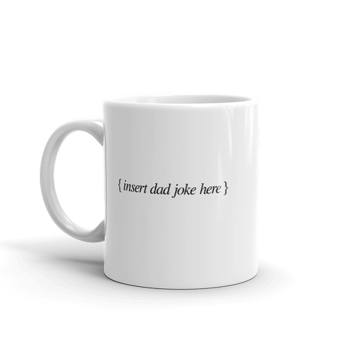 BuzzFeed Dad Joke Father's Day Mug