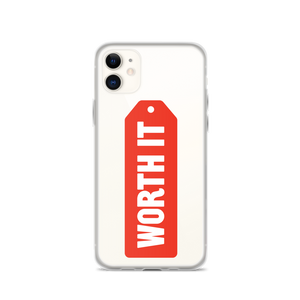 Worth It Logo iPhone Case