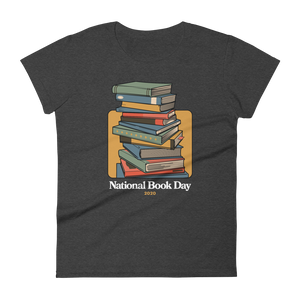 BuzzFeed Stack O' Books Book Day Women's T-Shirt