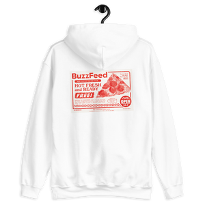 BuzzFeed Pizza Coupon Hooded Sweatshirt