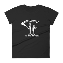 Load image into Gallery viewer, BuzzFeed Unsolved Hey Ghouls Women's T-Shirt
