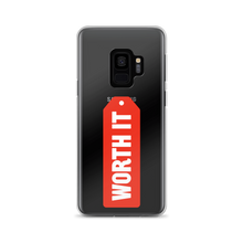 Load image into Gallery viewer, Worth It Logo Samsung Case