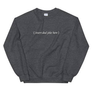 BuzzFeed Dad Joke Father's Day Sweatshirt