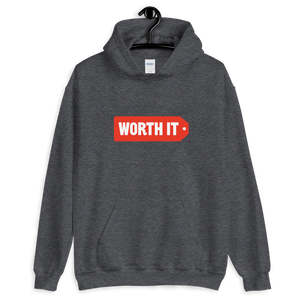 Worth It Logo Hooded Sweatshirt