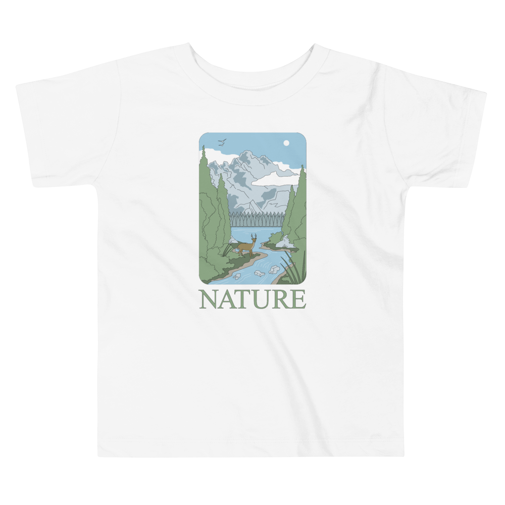 BuzzFeed Nature Earth Day Toddler T-Shirt