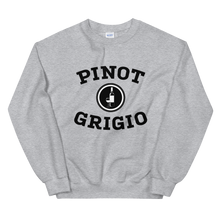 Load image into Gallery viewer, BuzzFeed Pinot Grigio Collegiate Wine Day Sweatshirt