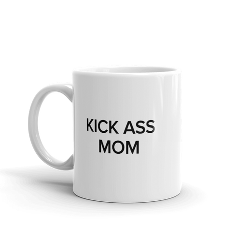 BuzzFeed Kick Ass Mom Mother's Day Mug