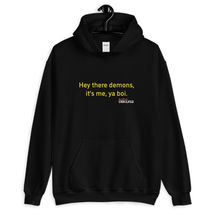 BuzzFeed Unsolved Hey There Demons Boi 2.0 Hooded Sweatshirt