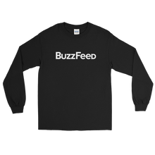 Load image into Gallery viewer, BuzzFeed Classic Logo Long Sleeve T-Shirt