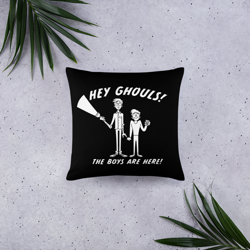 BuzzFeed Unsolved Hey Ghouls Pillow