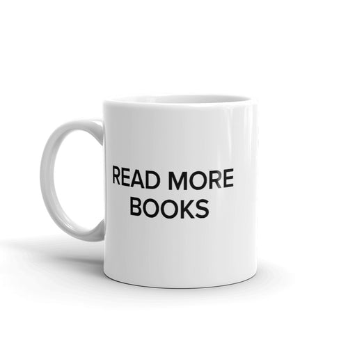 BuzzFeed Read More Books Book Day Mug