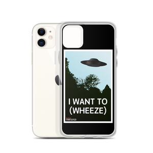 BuzzFeed Unsolved I Want To (Wheeze) iPhone Case