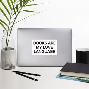 BuzzFeed Love Language Book Day Sticker
