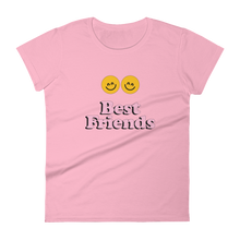 Load image into Gallery viewer, BuzzFeed Happy Faces Best Friend Day Women's T-Shirt