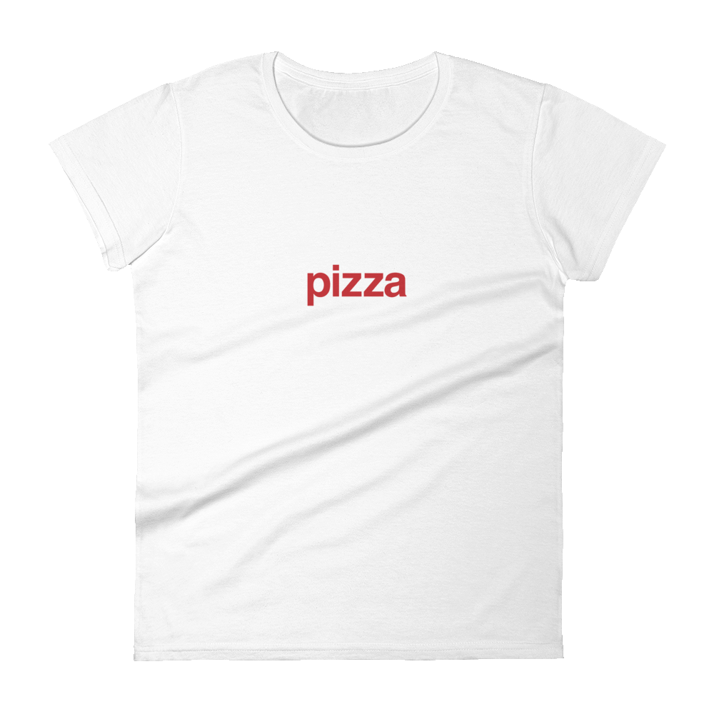 BuzzFeed Pizza Red Best Friend Day Women's T-Shirt