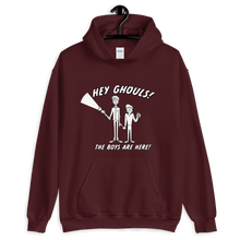 Load image into Gallery viewer, BuzzFeed Unsolved Hey Ghouls Hooded Sweatshirt